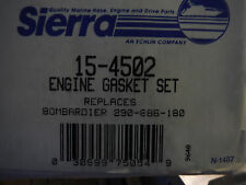new Sierra 15-4502 Engine Gasket Set Seadoo/bombardier 290-886-180