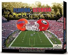Georgia/Florida Rivalry Vault by Norm Carlson and Loran Smith (2009, Hardcover)