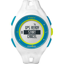 NEW Timex Ironman Run X20 Gps White TW5K95300F5