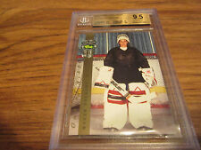 1992 CLASSIC FOUR SPORT MANON RHEAUME ROOKIE GRADED BECKETT 9.5 SWEET