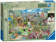 Ravensburger 19108 Gardening World Spring Time Adult 100 Piece Jigsaw Puzzle New
