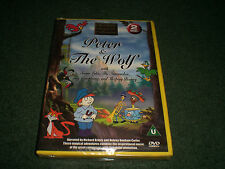 Peter & The Wolf DVD~NEW~Children's Classical Collection~Briers~Bonham Carter