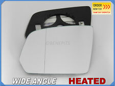 Wing Mirror Glass MERCEDES ML II W164 2009-11 Wide Angle HEATED Left Side #E028