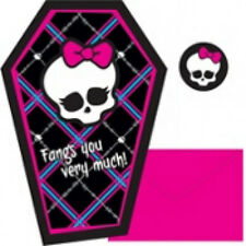 Monster High- Thank You Notes 8ct