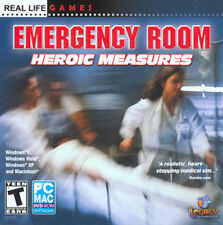 Emergency Room Heroic Measures  Paramedic Simulation PC-Mac  Brand New Sealed