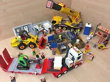 Playmobil HUGE construction bundle Diggers Cranes Figures Painters Building Job