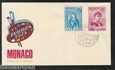 A 77 ) EUROPA CEPT  MONACO 1975 :   1167 -  1168  FDC  GEMÄLDE