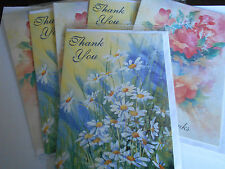 Pack of 6 Assorted Thank You Blank Cards