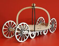 Princess carriage cup ckae fererro chocolate stand wedding display