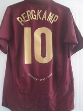 Arsenal 2005-2006 Bergkamp Redcurrant Football Shirt Large Trikot /40984