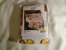 "Living Quarters Loft Madera Sham Set of 2 20""x26"" Flora Brand New MSRP $140.00"