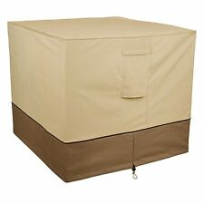 Square Air Conditioner Cover Tarp Winter Protection Heat Pump