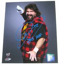 WWE MICK FOLEY SIGNED 8X10 PHOTOFILE PHOTO WITH PROOF 7