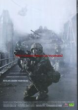 "Territorial Army TA ""Kevlar Covers Your Head"" 2006 Magazine Advert #226"