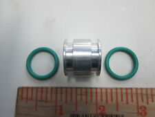 PORSCHE 944 TURBO 951  944 S2  968 OIL COOLER SLEEVE AND SEALS NEW GENUINE ITEM
