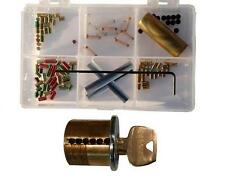 "Sargent 6 Pin ""You Build It"" Practice lock Kit. Commercial Grade, Spool/Serr pin"