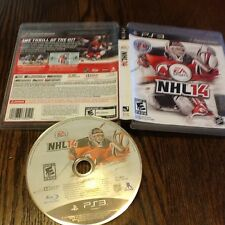 NHL 14 (Sony PlayStation 3, 2013) USED VIDEO GAME HOCKEY FREE USA SHIPPING FUN