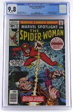 Marvel Spotlight #32 (1977, Marvel) CGC 9.8 NM/M, WHITE PAGES, 1st Spider-Woman