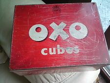 VINTAGE OXO CUBES TIN 12 X 12S, FREE-MAILING..