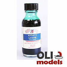 Transparent Green Lacquer 1oz Bottle - ALCLAD II LACQUER 404