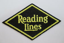 READING LINES Railroad PATCH