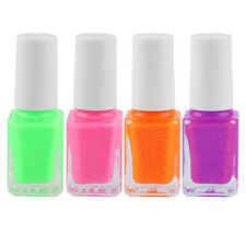 Pink New Glow in Dark Fluorescent Varnish Luminous DIY Nail Art Makeup Polish F7