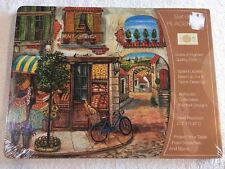 """NEW 2008 Benson Mills Cork Placemats """"LITTLE ITALY """" Set of 4"""
