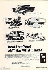 1977 ADVERT AMT Hobby Kits Model Kit 1957 Chevy Nomad Cuckoo Nest Ford Van 7 UP