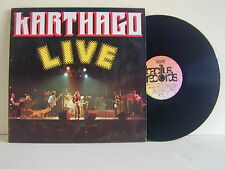 "LP-KARTHAGO-""LIVE""-GERMANIA 1976-BACILLUS RECORDS-MINT"
