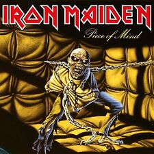 IRON MAIDEN - PIECE OF MIND  VINYL LP NEU