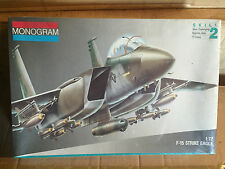 MONOGRAM KIT IN SCALA 1/72,F-15 STRICKE EAGLE NUOVISSIMO VINTAGE!!!