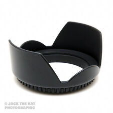 77mm Pro Petal Shaped Lens Hood. Lock Ring, Anti Flare.