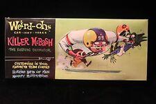 "Weird-Ohs ""Killer McBash"" Model Kit Hawk ""Wacky Football Monster"" FACTORY SEALED"
