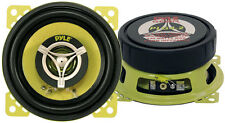 "Pyle Gear 4"" 10cm 100mm 280w coaxial deux voies paire porte voiture dash shelf speakers"
