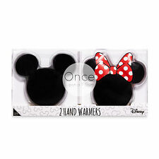 DISNEY MICKEY AND MINNIE MOUSE Winter Gel HAND WARMERS Heaters From Primark
