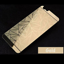3D Diamond Tempered Glass Front +Back Screen Protector For iPhone FM