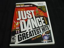 Replacement Case (NO GAME) JUST DANCE GREATEST HITS  NINTENDO WII