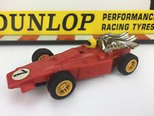 Scalextric Vintage Car C20 Red Dart Race No7 Slot Car