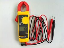 Fluke 302+ F302+ Digital Clamp Meter AC/DC Multimeter Tester w/ Case USA Seller