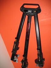 RED ACCENT COASTAR  CAMERA CAMCORDER VIDEO TRIPOD DOLLY ON WHEELS