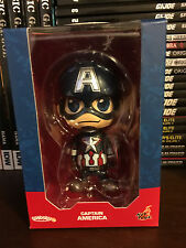 Hot Toys COSBABY Captain America from Avengers Age of Ultron movie in box