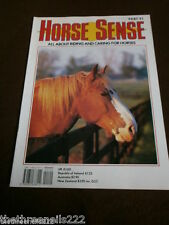 HORSE SENSE # 91 TENNESSEE WALKING HORSE