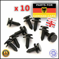 VW Bora Golf Jetta Lupo Polo Interior Pillar Trim Panel Fastener Clip x 10
