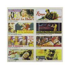 8 carteles de la película para Panel publicitario Escala G modelo energía 998