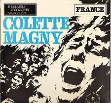 """COLETTE MAGNY """"FEU ET RHYTME"""" PROG JAZZ LP LE CHANT DU MONDE LDX 74444"""