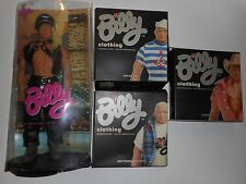 Totem Blonde Master Billy Out and Proud Gay Doll with 3 Additional Clothing Sets
