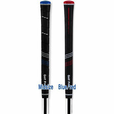 New Golf Grips CP2 Pro or Wrap Midsize Blue & Red Golf Club Grips Pcs $