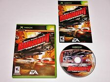 Burnout Revenge Complete Game for Original Xbox System Console