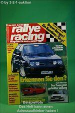 Rallye Racing 11/86 VW Polo G40 Lancia Delta Mazda 323