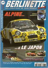 BERLINETTE MAG 36 ALPINE A110 1800 VA USINE GTA V6 TURBO LE MANS A310 V6 PACK GT